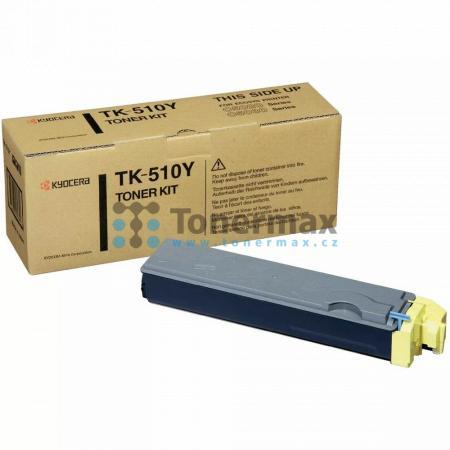 Kyocera TK-510Y, TK510Y, poškozený obal, originální toner pro tiskárny Kyocera FS-C5020N, FS-C5025N, FS-C5030N