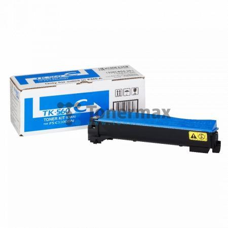 Kyocera TK-560C, TK560C, originální toner pro tiskárny Kyocera ECOSYS P6030cdn, ECOSYS P6030, FS-C5300DN, FS-C5350DN