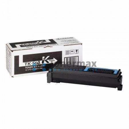 Kyocera TK-560K, TK560K, originální toner pro tiskárny Kyocera ECOSYS P6030cdn, ECOSYS P6030, FS-C5300DN, FS-C5350DN