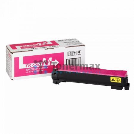 Kyocera TK-560M, TK560M, originální toner pro tiskárny Kyocera ECOSYS P6030cdn, ECOSYS P6030, FS-C5300DN, FS-C5350DN