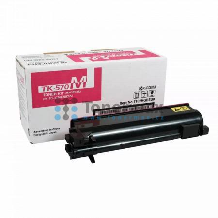 Kyocera TK-570M, TK570M, originální toner pro tiskárny Kyocera ECOSYS P7035cdn, FS-C5400DN