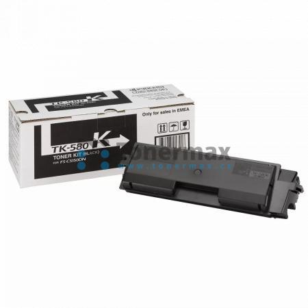 Kyocera TK-580K, TK580K, originální toner pro tiskárny Kyocera ECOSYS P6021cdn, FS-C5150DN