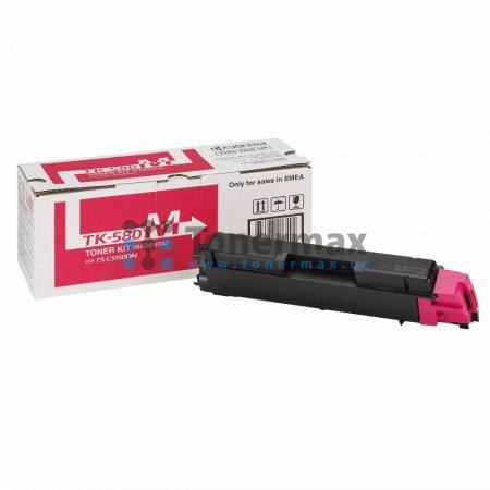 Kyocera TK-580M, TK580M, originální toner pro tiskárny Kyocera ECOSYS P6021cdn, FS-C5150DN