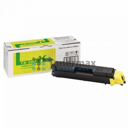 Kyocera TK-580Y, TK580Y, originální toner pro tiskárny Kyocera ECOSYS P6021cdn, FS-C5150DN