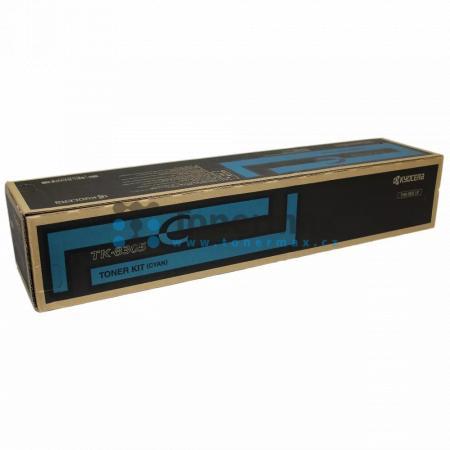 Kyocera TK-8305C, TK8305C, poškozený obal, originální toner pro tiskárny Kyocera TASKalfa 3050ci, TASKalfa 3051ci, TASKalfa 3550ci, TASKalfa 3551ci