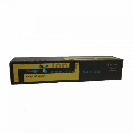 Kyocera TK-8505Y, TK8505Y, poškozený obal, originální toner pro tiskárny Kyocera TASKalfa 4550ci, TASKalfa 4551ci, TASKalfa 5550ci, TASKalfa 5551ci