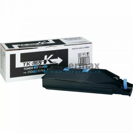 Kyocera TK-865K, TK865K, originální toner pro tiskárny Kyocera TASKalfa 250ci, TASKalfa 300ci
