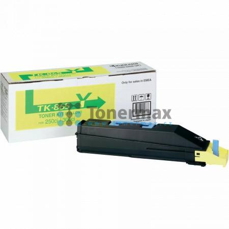 Kyocera TK-865Y, TK865Y, originální toner pro tiskárny Kyocera TASKalfa 250ci, TASKalfa 300ci