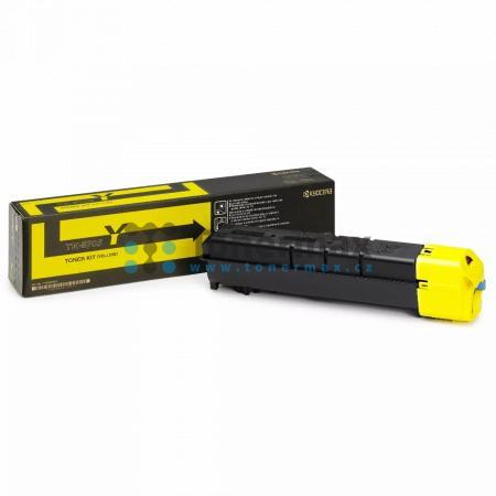 Kyocera TK-8705Y, TK8705Y, originální toner pro tiskárny Kyocera TASKalfa 6550ci, TASKalfa 6551ci, TASKalfa 7550ci, TASKalfa 7551ci
