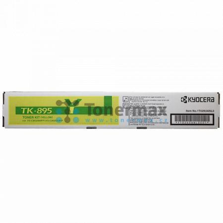 Kyocera TK-895Y, TK895Y, originální toner pro tiskárny Kyocera FS-C8020MFP, FS-C8025MFP, FS-C8520MFP, FS-C8525MFP