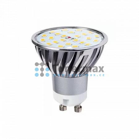 Plass LED žárovka GU10, 4,5W, studená bílá