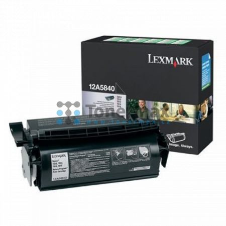 Lexmark 12A5840, Return Program