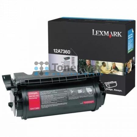 Lexmark 12A7360, originální toner pro tiskárny Lexmark T630, T630dn, T630n, T630nve, T630ve, T632, T632dtn, T632n, T632tn, T634, T634dn, T634dtn, T634dtnf, T634n, T634tn, X630, X632, X632e, X632s, X634dte, X634e