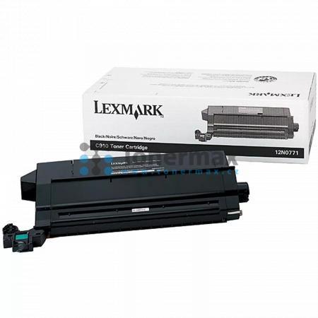 Lexmark 12N0771, originální toner pro tiskárny Lexmark C910, C910dn, C910fn, C910in, C910n, C912, C912dn, C912fn, C912n, X912e MFP