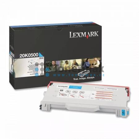 Lexmark 20K0500, poškozený obal, originální toner pro tiskárny Lexmark C510, C510dtn, C510n