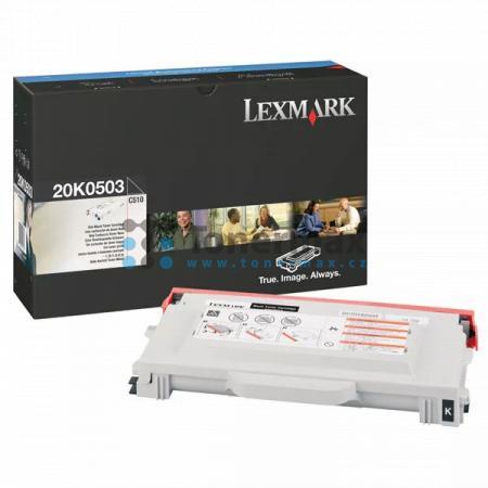 Lexmark 20K0503, originální toner pro tiskárny Lexmark C510, C510dtn, C510n