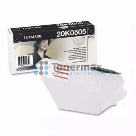 Lexmark 20K0505, odpadní nádobka originální pro tiskárny Lexmark C510, C510dtn, C510n