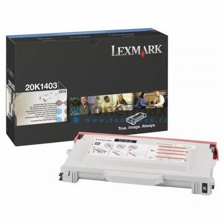 Lexmark 20K1403, originální toner pro tiskárny Lexmark C510, C510dtn, C510n