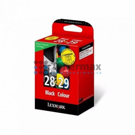 Lexmark 28 + 29, 18C1520E, originální cartridge pro tiskárny Lexmark X2500, X2510, X2530, X2550, X5070, X5075, X5490, X5495, Z845, Z1300, Z1310, Z1320