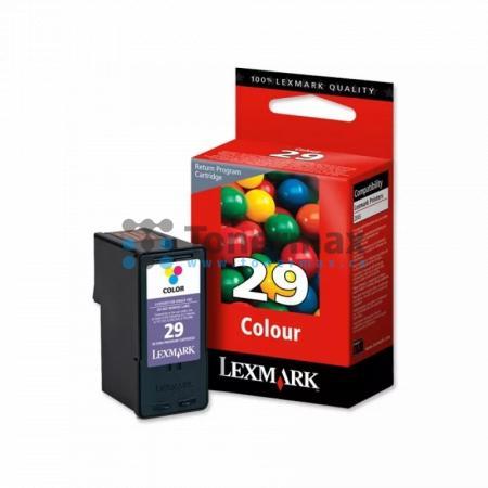 Lexmark 29, 18C1429E, return, originální cartridge pro tiskárny Lexmark X2500, X2510, X2530, X2550, X5070, X5075, X5490, X5495, Z845, Z1300, Z1310, Z1320