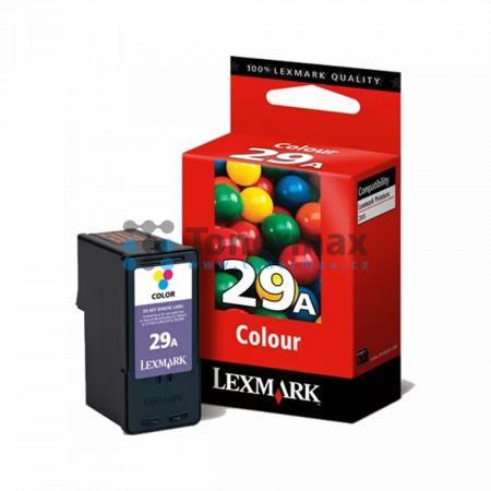 Lexmark 29A, 18C1529E, originální cartridge pro tiskárny Lexmark X2500, X2510, X2530, X2550, X5070, X5075, X5490, X5495, Z845, Z1300, Z1310, Z1320