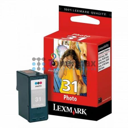 Lexmark 31, 18C0031E, originální cartridge pro tiskárny Lexmark Home Copier Plus, P915, P4330, P4350, P6250, P6350, X2500, X2510, X2530, X2550, X2620, X2650, X2670, X3330, X3350, X3530, X3550, X3650, X4530, X4550, X4550 Business Edition, X4580, X4650, X50