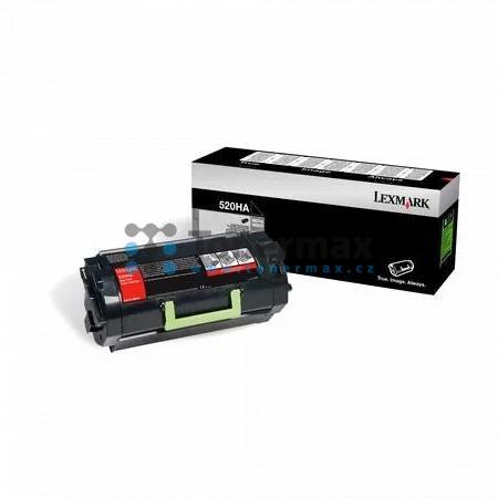 Lexmark 52D0HA0, 520HA, originální toner pro tiskárny Lexmark MS810de, MS810dn, MS810dtn, MS810n