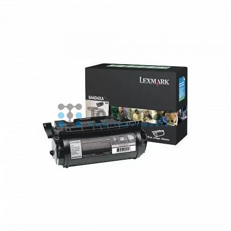 Lexmark 64404XE, return, pro tisk etiket, originální toner pro tiskárny Lexmark T644, T644dtn, T644n, T644tn