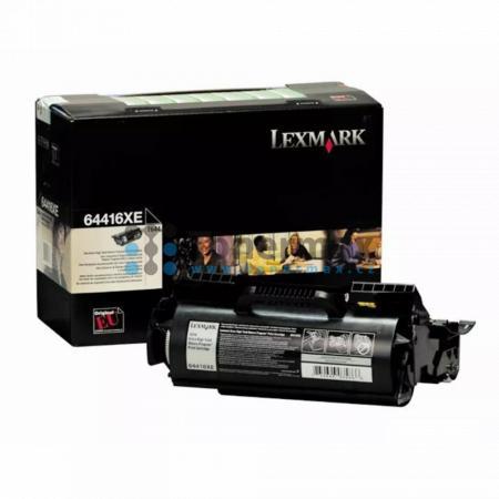 Lexmark 64416XE, return, originální toner pro tiskárny Lexmark T644, T644dtn, T644n, T644tn