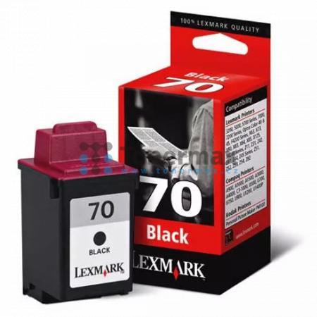 Lexmark 70, 12AX970E, originální cartridge pro tiskárny Lexmark 3200, 5000, 5700, 5770, F4270, Optra Color 40, Optra Color 45, Optra Color 45n, X63 AIO, X70, X73, X80, X83 AIO, X84, X85, X125, X125pro AIO, X4250, Z11, Z31, Z42, Z43, Z45, Z45se, Z51, Z52,