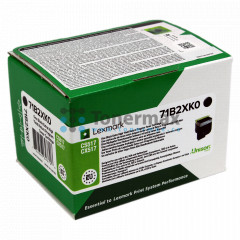 Lexmark 71B2XK0, Return Program