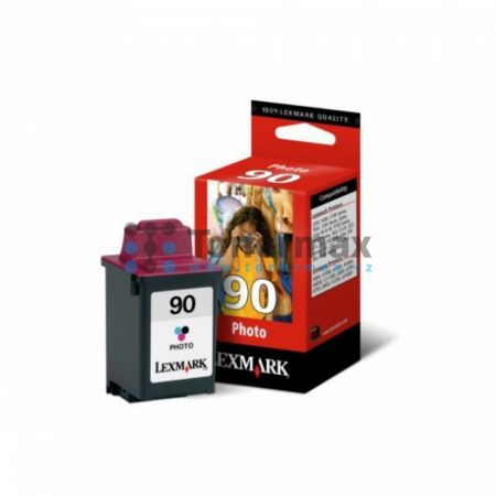 Lexmark 90, 12A1990E, originální cartridge pro tiskárny Lexmark 3200, 5000, 5700, 5770, Optra Color 40, Optra Color 45, Optra Color 45n, P706, P707, P3120, P3150, X63 AIO, X70, X73, X125, Z22, Z32, Z42, Z43, Z45, Z51, Z52, Z53, Z54, Z705, Z715