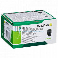 Lexmark C2320Y0, Return Program