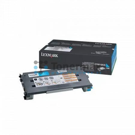 Lexmark C500H2CG, return, originální toner pro tiskárny Lexmark C500n, X500n, X502n
