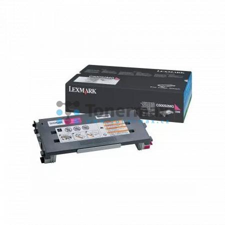 Lexmark C500S2MG, return, originální toner pro tiskárny Lexmark C500n, X500n, X502n