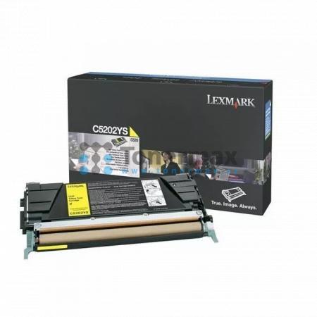 Lexmark C5202YS, originální toner pro tiskárny Lexmark C530dn