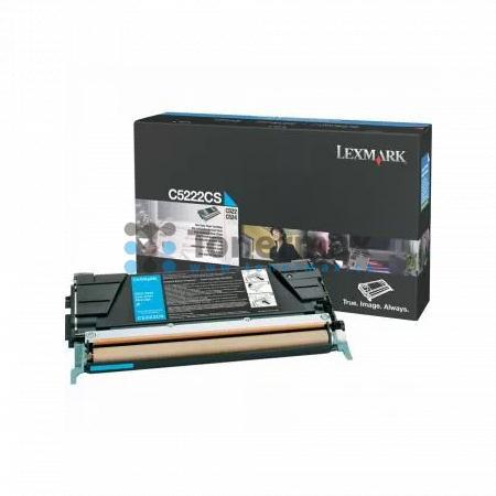 Lexmark C5222CS, originální toner pro tiskárny Lexmark C522n, C524, C524dn, C524dtn, C524n, C530dn, C532dn, C532n, C534dn, C534dtn, C534n