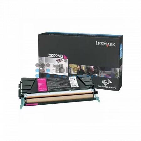 Lexmark C5222MS, originální toner pro tiskárny Lexmark C522n, C524, C524dn, C524dtn, C524n, C530dn, C532dn, C532n, C534dn, C534dtn, C534n
