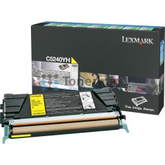 Lexmark C5240YH, return