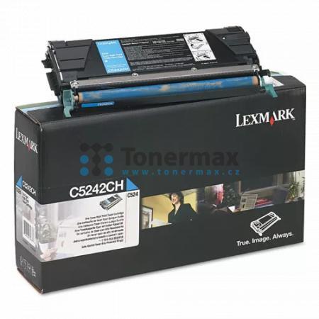 Lexmark C5242CH, originální toner pro tiskárny Lexmark C524, C524dn, C524dtn, C524n, C532dn, C532n, C534dn, C534dtn, C534n