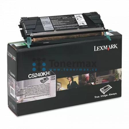 Lexmark C5242KH, originální toner pro tiskárny Lexmark C524, C524dn, C524dtn, C524n, C534dn, C534dtn, C534n