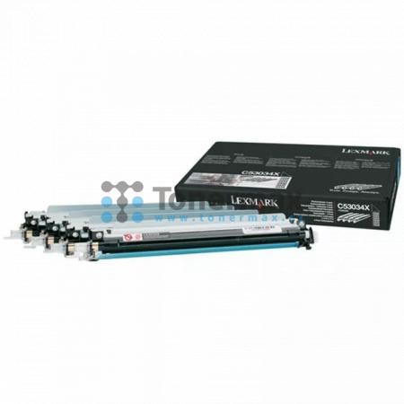 Lexmark C53034X, sada 4ks fotoválců originální pro tiskárny Lexmark C522n, C524, C524dn, C524dtn, C524n, C530dn, C532dn, C532n, C534dn, C534dtn, C534n