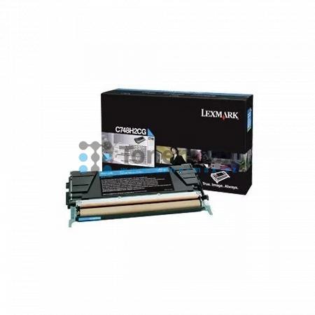Lexmark C748H2CG, originální toner pro tiskárny Lexmark C748de, C748dte, C748e