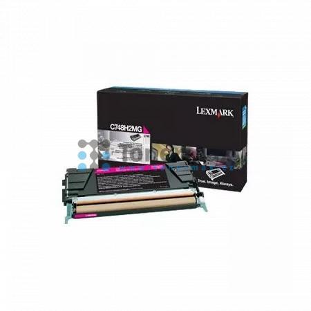 Lexmark C748H2MG, originální toner pro tiskárny Lexmark C748de, C748dte, C748e