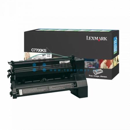 Lexmark C7700KS, return, originální toner pro tiskárny Lexmark C770dn, C770dtn, C770n, C772dn, C772dtn, C772n, X772e