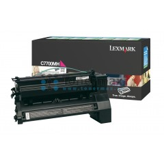 Lexmark C7700MS, return