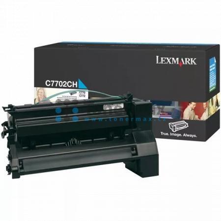 Lexmark C7702CH, originální toner pro tiskárny Lexmark C770dn, C770dtn, C770n, C772dn, C772dtn, C772n, X772e