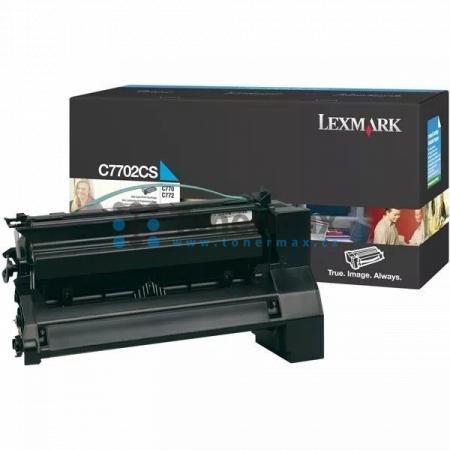 Lexmark C7702CS, originální toner pro tiskárny Lexmark C770dn, C770dtn, C770n, C772dn, C772dtn, C772n, X772e