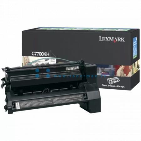 Lexmark C7702KH, originální toner pro tiskárny Lexmark C770dn, C770dtn, C770n, C772dn, C772dtn, C772n, X772e