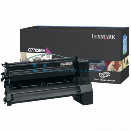 Lexmark C7702MH, originální toner pro tiskárny Lexmark C770dn, C770dtn, C770n, C772dn, C772dtn, C772n, X772e